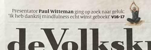 Paul Witteman op zoek naar geluk
